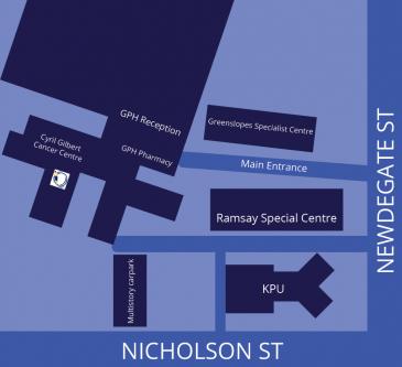 Queensland Gastroenterology Greenslopes Private Hospital location