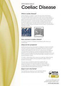 coeliac disease information